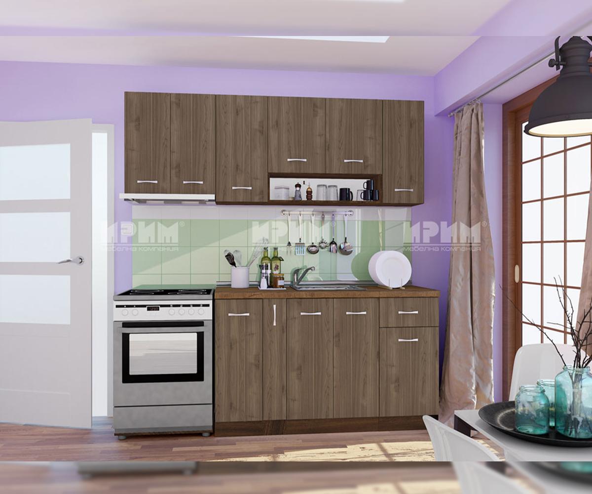 снимка на Права кухня комплект мебели Сити