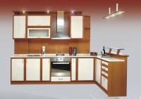 снимка на Модулна кухня по индивидуален проект.