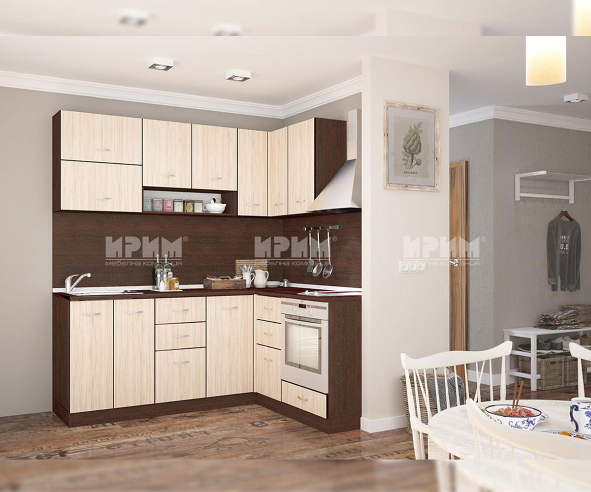снимка на Модулна ъглова кухня Сити