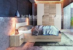 снимка на Спален комплект мебели Сити
