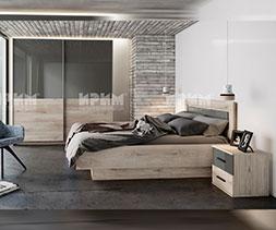 Спален комплект мебели Сибила