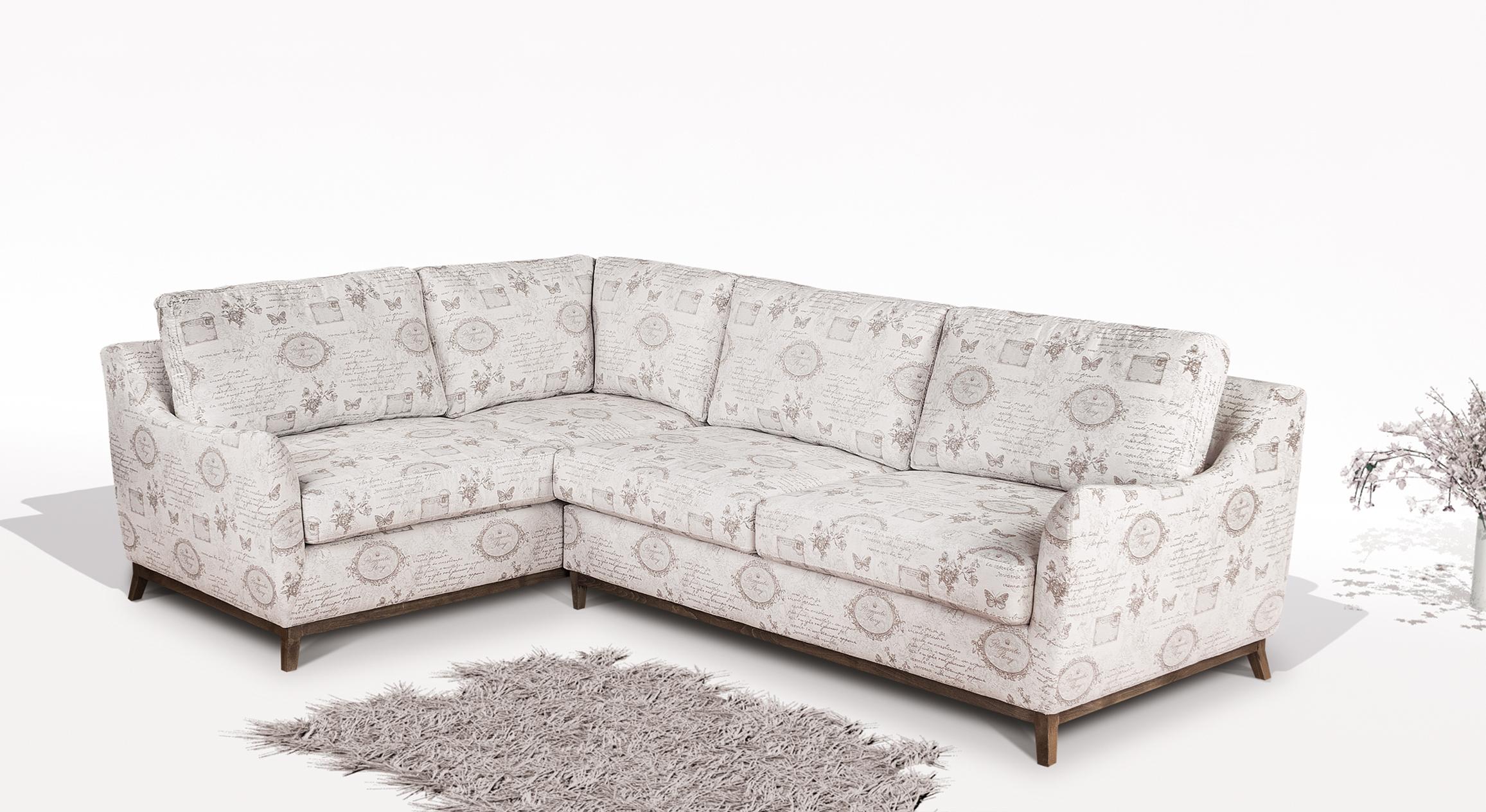 снимка на Разтегателен ъглов диван ВИВА