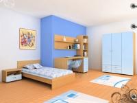 снимка на Синя детска стая