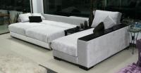 Бял диван луксозен