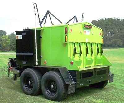 Бункер за преработка на асфалт