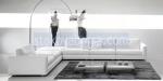 снимка на дизайнерски ъглови дивани