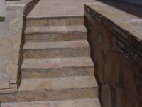 Каменна облицовка за стълби