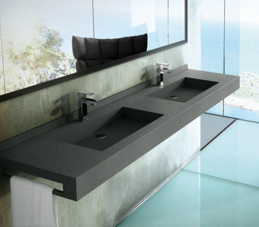 снимка на Голяма луксозна мивка за баня