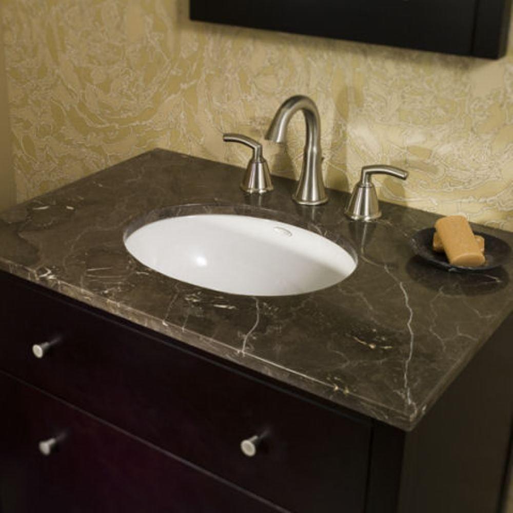 снимка на Малък плот за баня технически камък