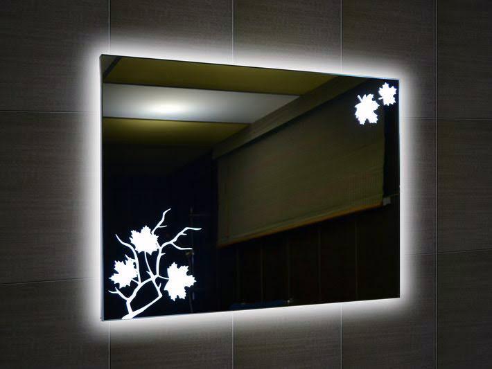 снимка на Луксозно огледало за баня