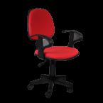 снимка на Офис стол червен