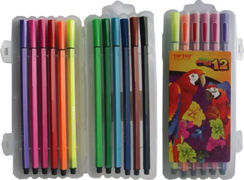 Флумастри 12цвята Tip Top