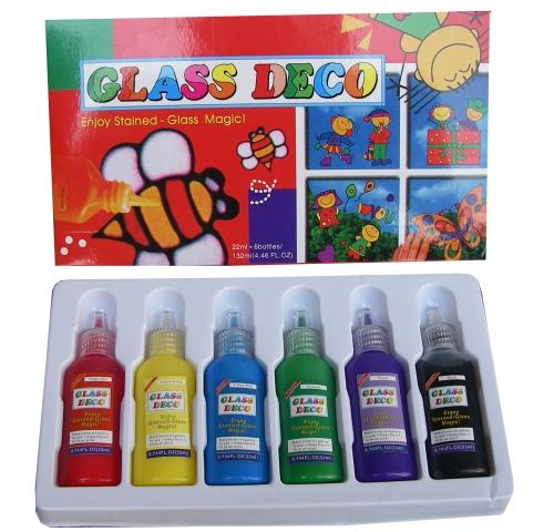 Боички за стъкло 6 цвята MAXIMA