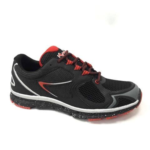 снимка на Мъжки маратонкичерно с червено.