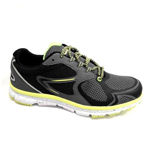 снимка на Мъжки маратонкисиво със зелено.
