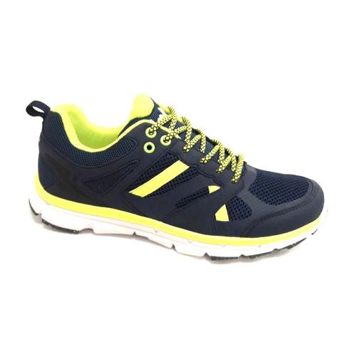 снимка на Мъжки маратонкисиньо със зелено.