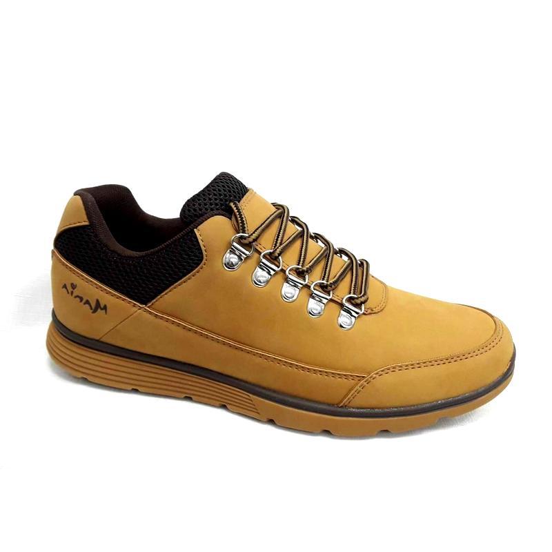 снимка на Кафяви мъжки спортни обувки.