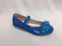 снимка на Сини пролетни обувки за момичета.