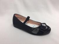 снимка на Черни пролетни детски обувки.