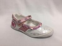 снимка на Сребристорозови пролетни детски обувки.