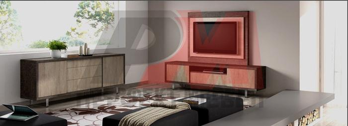 по проект интериорен дизайн на апартамент 90 мв.м.