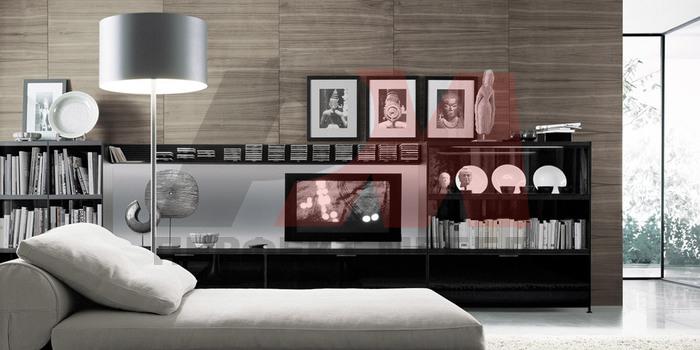 интересен интериорен дизайн на апартамент 90 мв.м. по проект