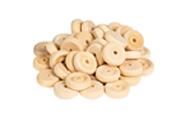 снимка на Дървени кръгчета L