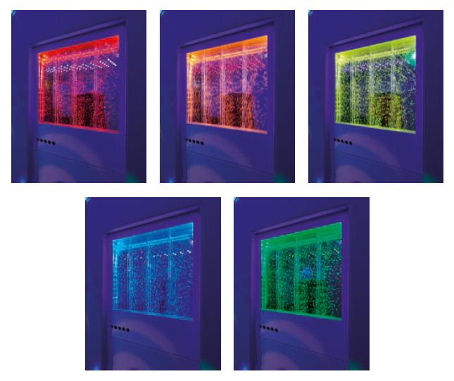 Интерактивна водна стена S