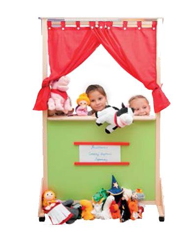 Параван за куклен театър