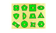 снимка на Голям геометричен пъзел