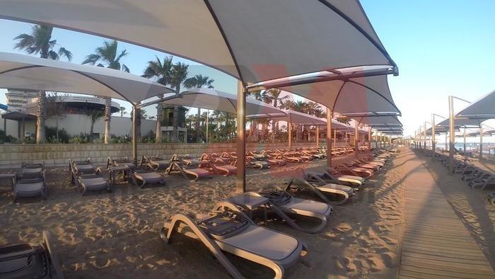 Шезлонг от полипропилен за плаж