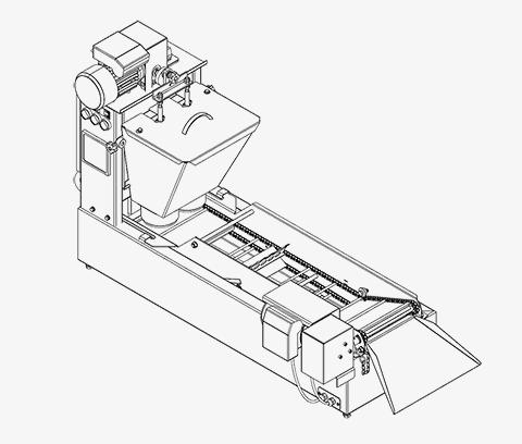 Машина за големи понички - МП2-1