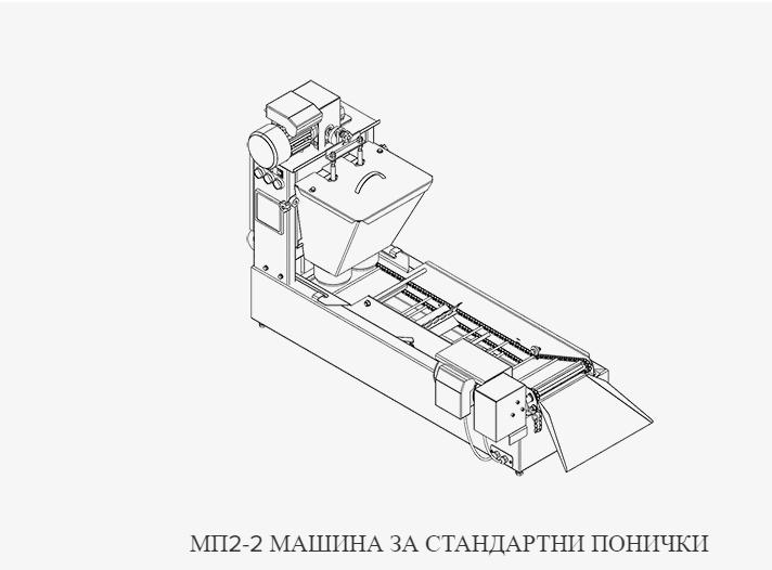 Машина за стандартни понички - МП2-2