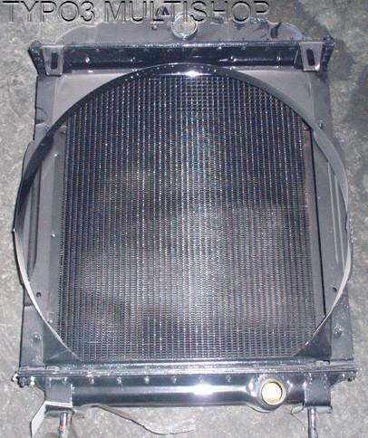 Резервни части за трактор ЮМЗ - радиатор