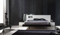 снимка на Спалня със стилна табла