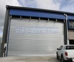 снимка на ролетки за охрана индустриални сгради