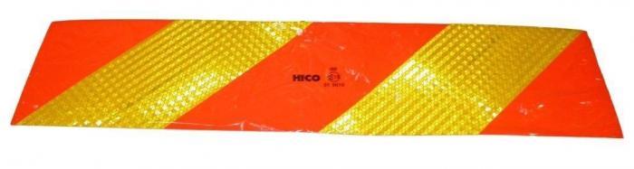 Стикер-табела светлоотразителна за камион к-т 2 бр