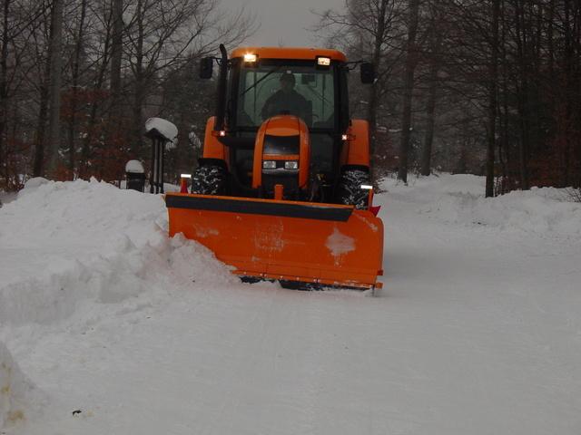 снимка на Прави хидравлични снегорини MTM Tech