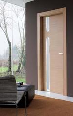 лукс Интериорни врати със стъкло по размер