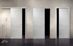 снимка на лукс плъзгащи фрезовани интериорни врати по поръчка