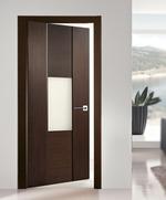 снимка на здрави Интериорни врати със стъкло по размер