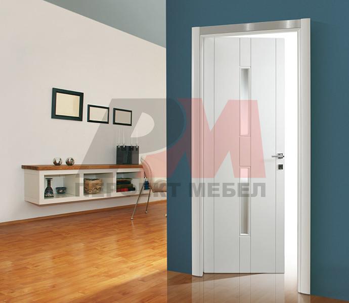 красиви Интериорни врати със стъкло по размер