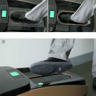 снимка на Автоматична машина за обуване на калцуни