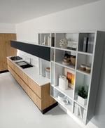 снимка на кухни в два цвята София