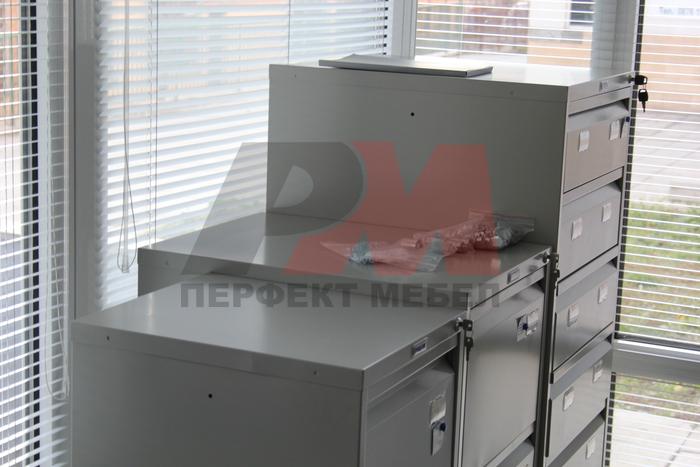 Изработка на офис метални шкафове за класьори по поръчка Балчик