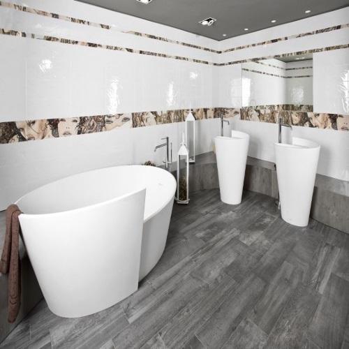Плочки за баня BELLAGIO MANARA BIANCO