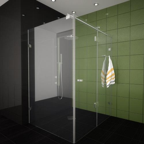 COVENIENT - квадратна душ кабина 6 мм различни размери