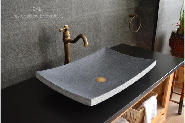 снимка на Дизайнерска мивка от технически камък