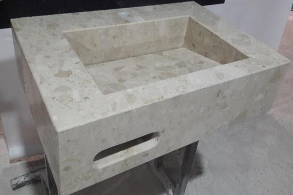 снимка на Мивка ''Perlato Apia'' от технически камък