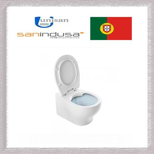 SANPROJECT RIMFLUSH окачена тоалетна